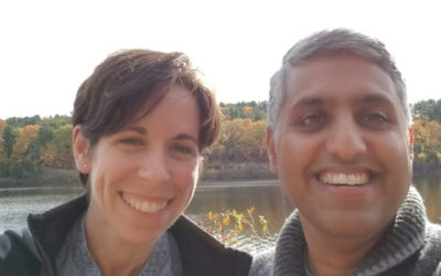 Jen and Prashanth